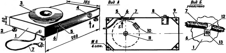 Электроплитка с корпусом из листового металла