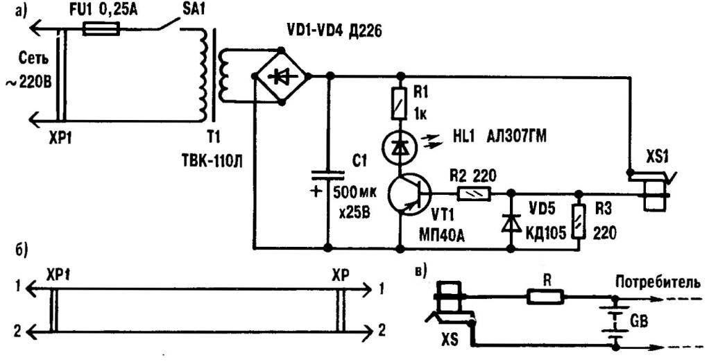 Самодельное зарядное устройство «Стандарт»
