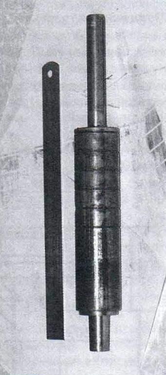Шпиндель и ходовая втулка в сборе