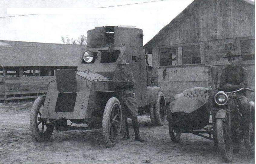 White Armored Саг 4x2 Model 1916