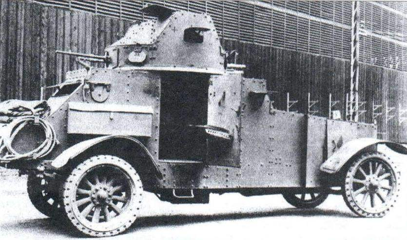 Французский бронеавтомобиль «Уайт» AMD