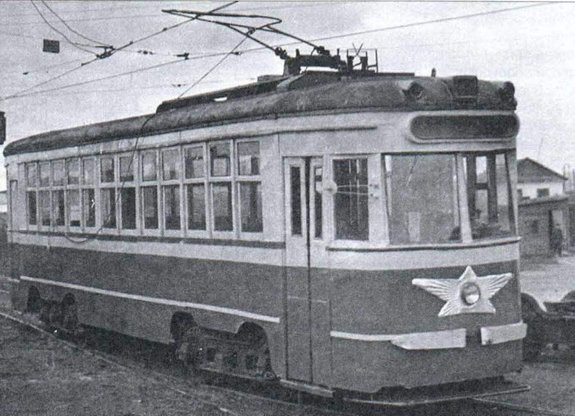 Модернизированный вагон типа КМ в городе Челябинске