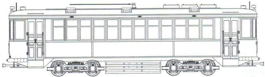 Моторный вагон типа КМ 1929 - 1935 годов
