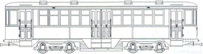 Прицепный вагон КП, 1930 - 1935 годов