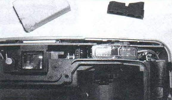 Вид на окисляющиеся контакты механизма «зума»