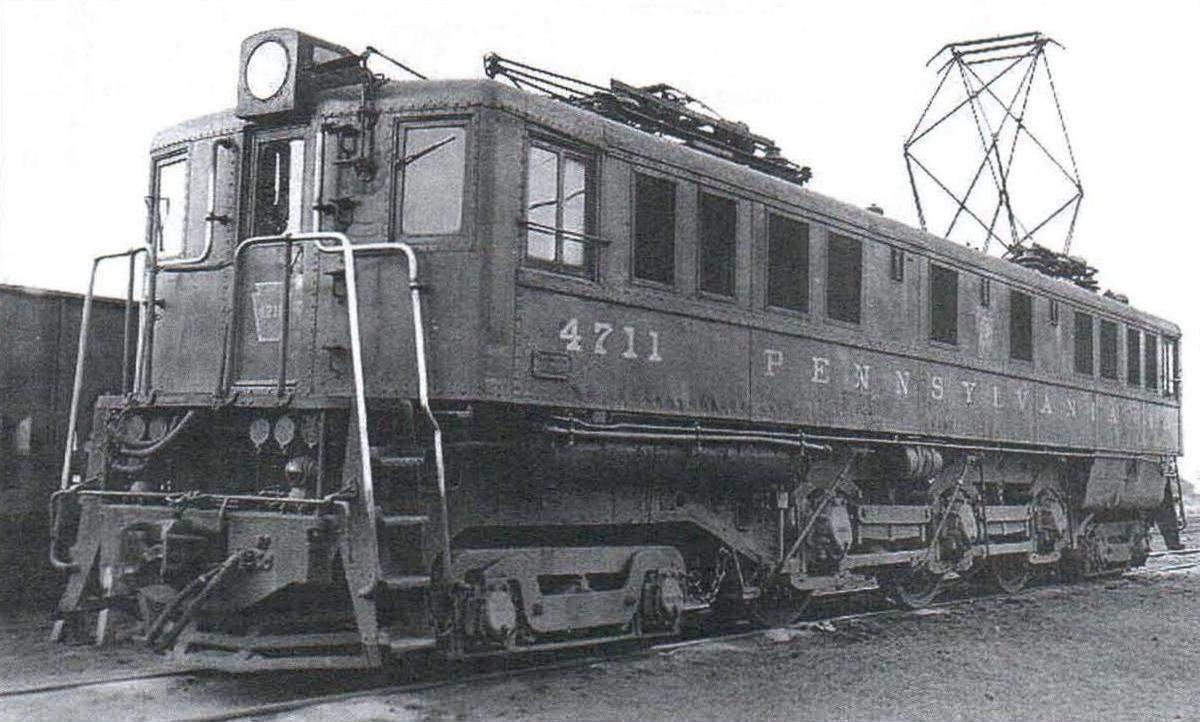 Электровоз Р5 Пенсильванской ж.д. (США) - возможный прототип электровоза ПБ21