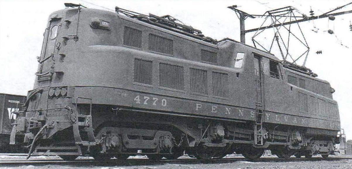 Электровоз Р5а Пенсильванской железной дороги (США), ставший возможным прототипом для модернизации электровоза ПБ21