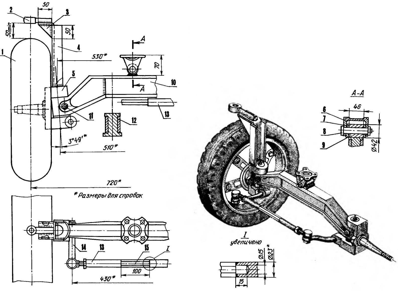 Адаптер для мотоблока своими руками чертежи с размерами 228