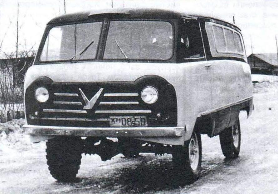 Автомобили семейства УАЗ-450 - УАЗ-452.