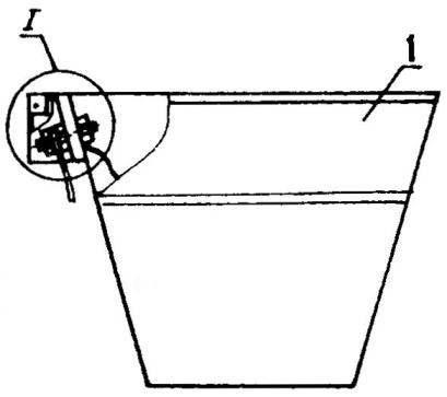 Рис. 1. Электрокамелек для ванной