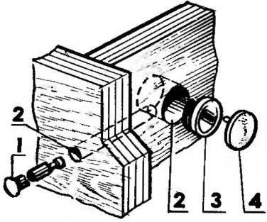 Соединение панелей с помощью фурнитуры