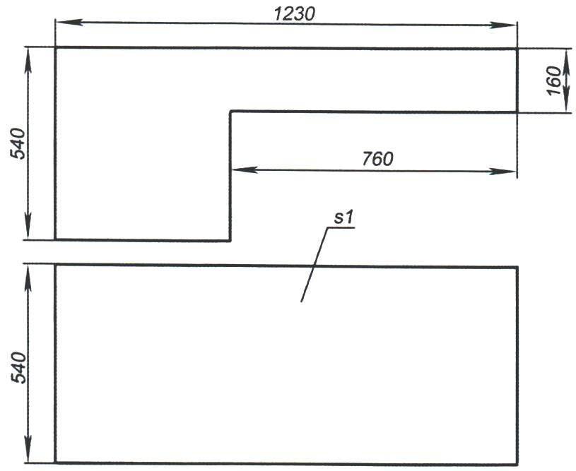 Капот (стальной лист s1)