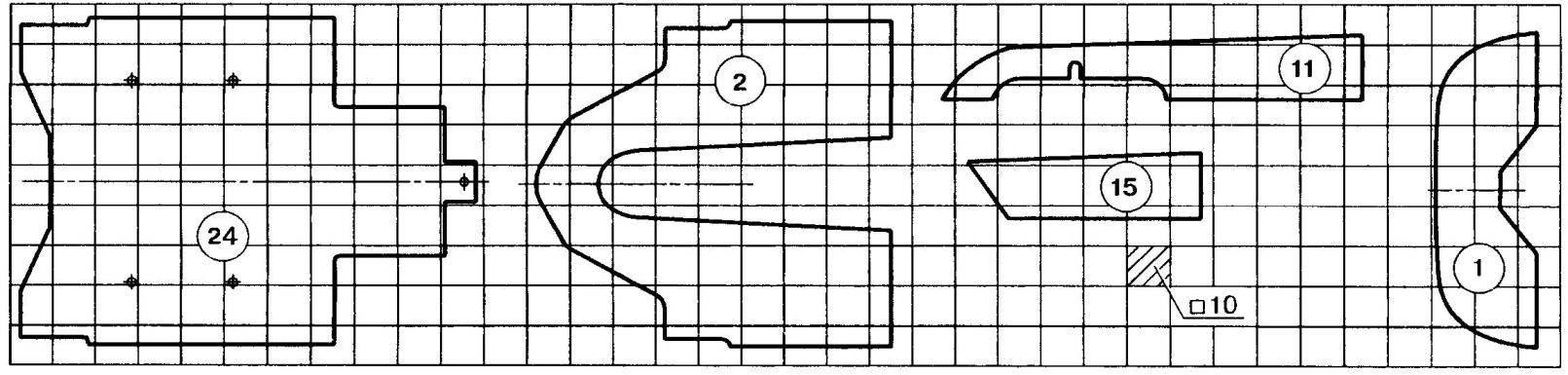 Трассовая модель-копия автомобиля Kudzu Mazda DG3 (2)