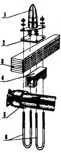Типовое крепление рессоры