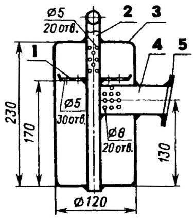 Глушитель (все детали из стали 08КП)