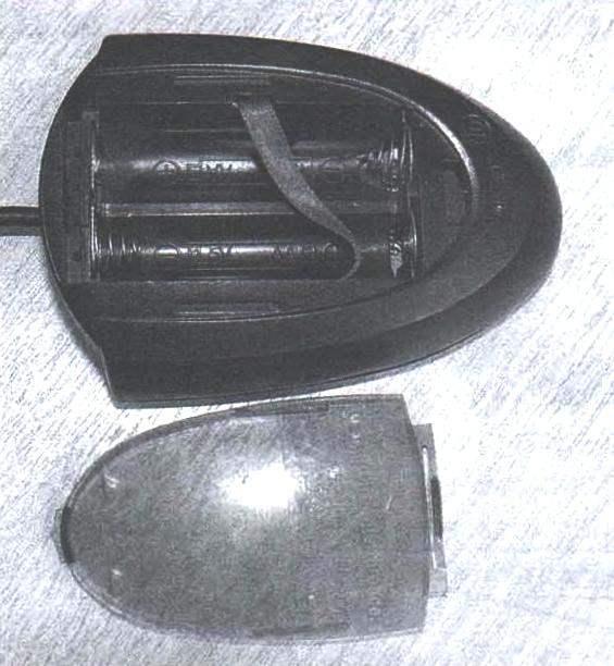 Фото 3. Приёмо-передатчик RX-9 комплекта беспроводной клавиатуры и манипулятора оптической мыши