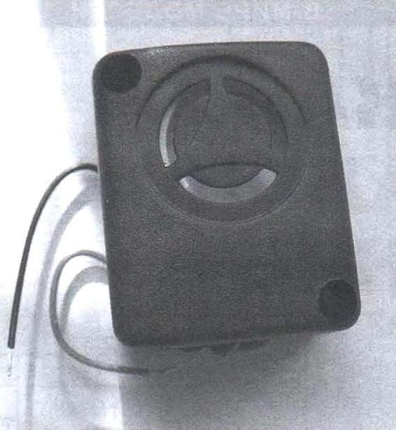 Фото 4. Установка беспроводной мышки для охраны сейфа