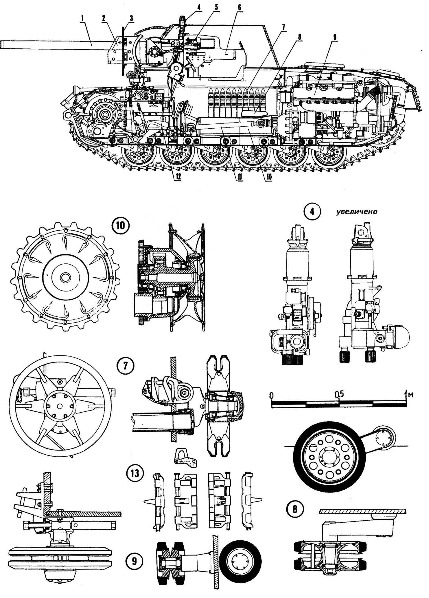 Компоновка СУ-76И