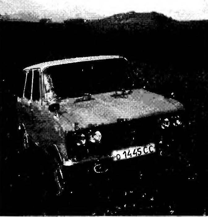 На фото — машины, созданные В.А.Свербилем