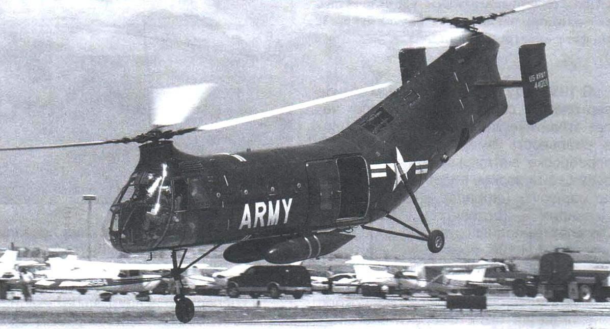 «Пясецкий» РV-22, выигравший конкурс на спасательный вертолёт для Стратегического авиационного командования США