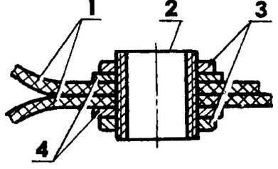 Схема соединения пнеамокамер