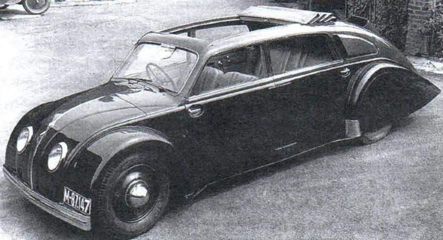 Tatra-77 выпуска 1934 года
