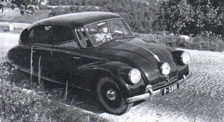 Tatra-87 выпуска 1937 года