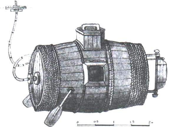 Ещё одна реконструкция внешнего вида судна Е. Никонова (первоначальная «малая модель»)