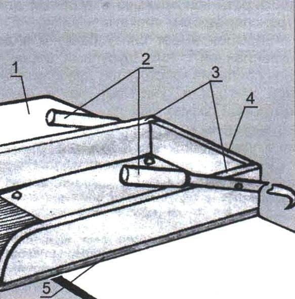 Короб сиденья
