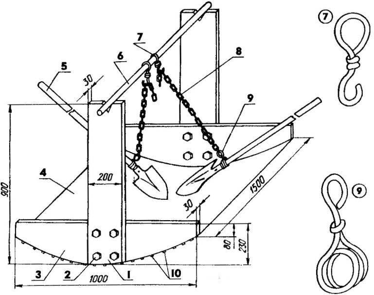 Приспособление для перемешивания цементного раствора