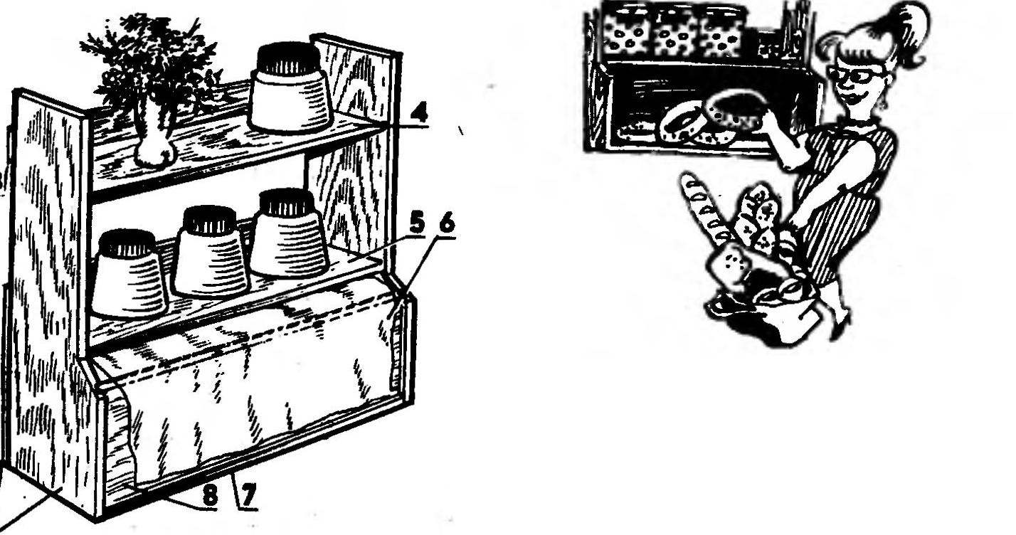 Полка-хлебница