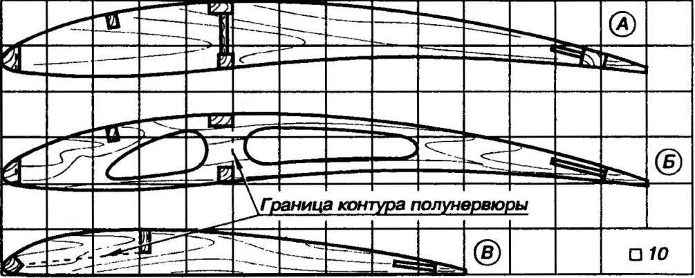 Профили крыла и стабилизатора