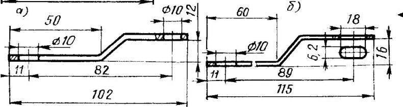 Детали механизма натяжения цепи