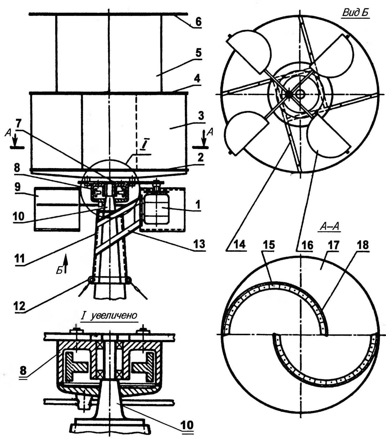 Вертикальный ветряк своими руками: процесс сборки 36
