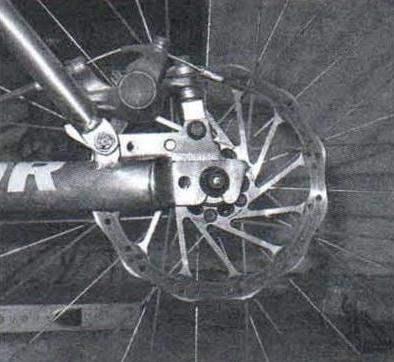 Тормозной механизм колеса (заднего)