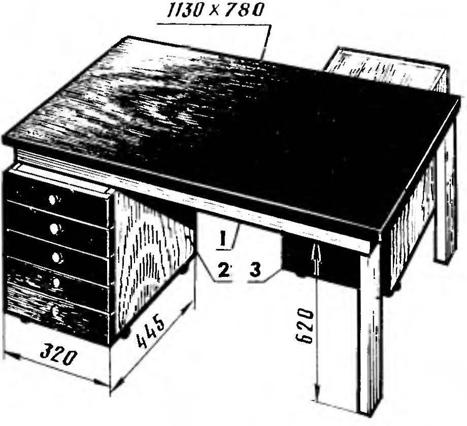Рис. 1. Комбинированный универсальный стол
