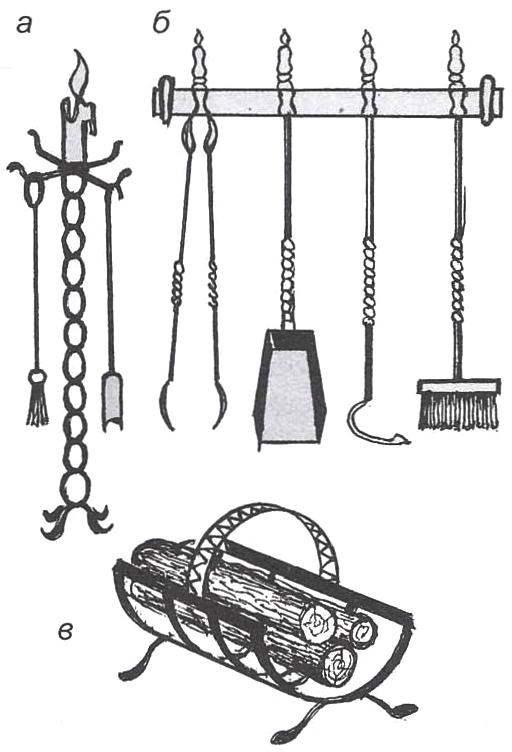 Рис. 6. Каминный инструмент