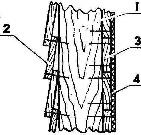 Обшивка внутренних и наружных стен дома