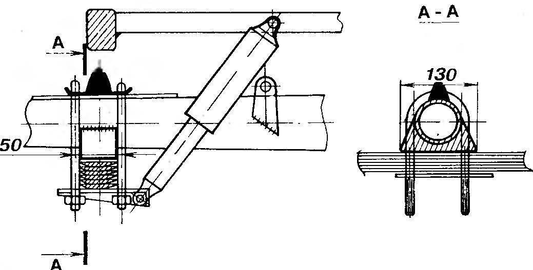 Рис. 11. Фрагмент заднего моста