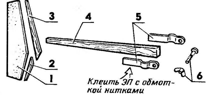 Рис. 4. Следящая система самоустановки парусов