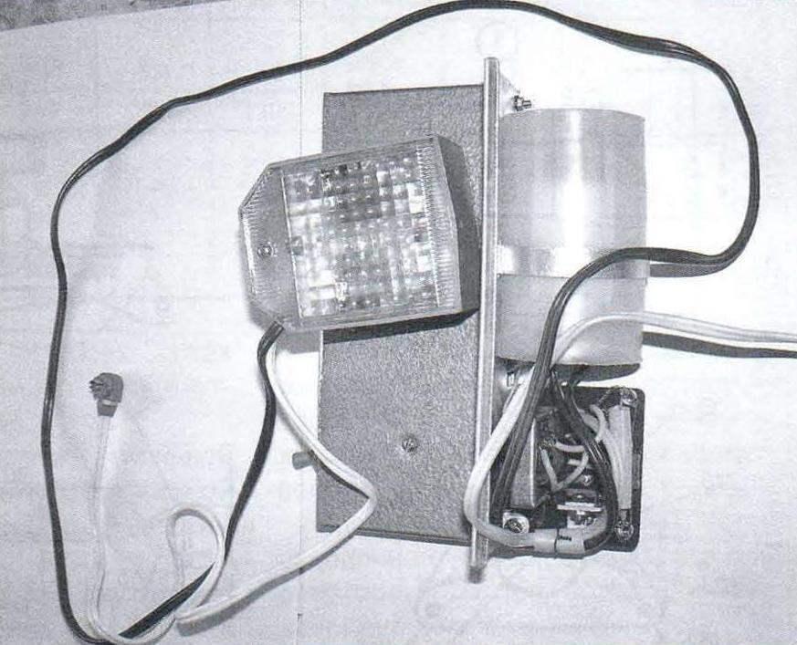 Фотовспышка СЭФ-1 в расчехлённом виде