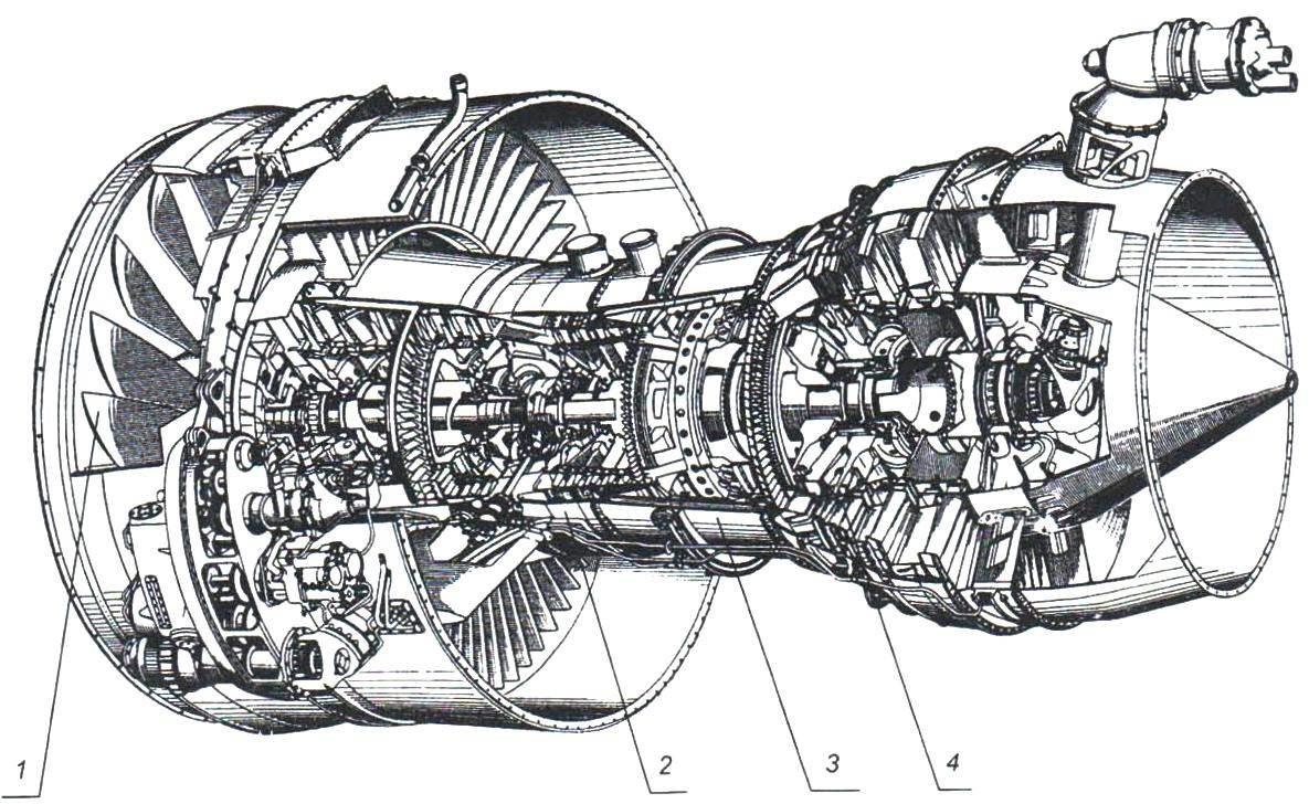Двухконтурный турбореактивный двигатель RВ.207 - разрабатывался для аэробуса А-300