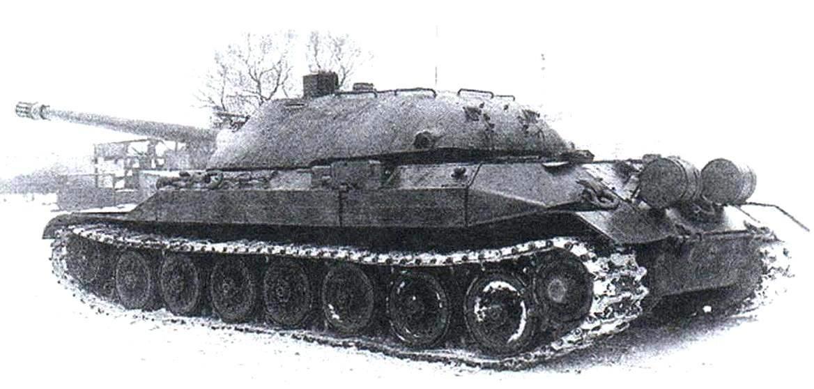 Тяжёлый танк ИС-7 («объект 260»), К лету 1948 г. на Ленинградском Кировском заводе было изготовлено четыре опытных образца танка
