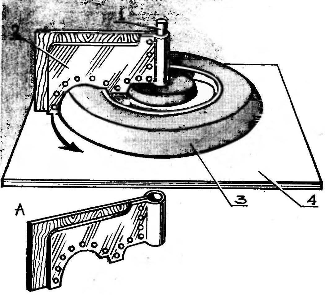 Станок для изготовления макета автомобильного колеса:
