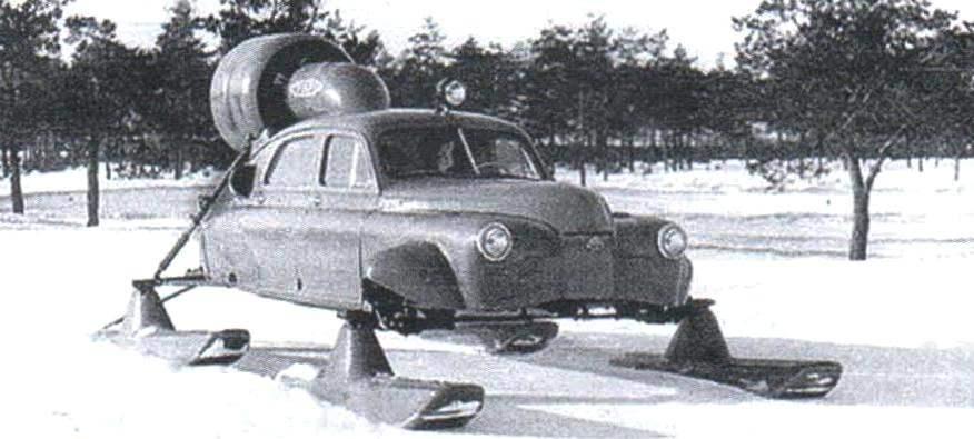 Аэросани «Север-2», созданные в ОКБ Н.И. Камова