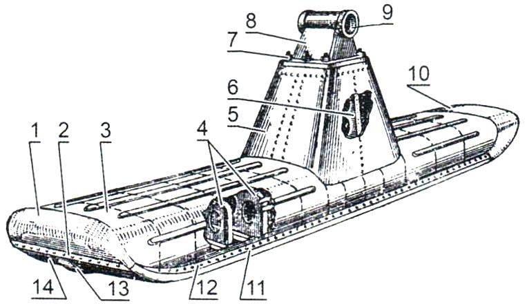 Лыжа аэросаней «Север-2»