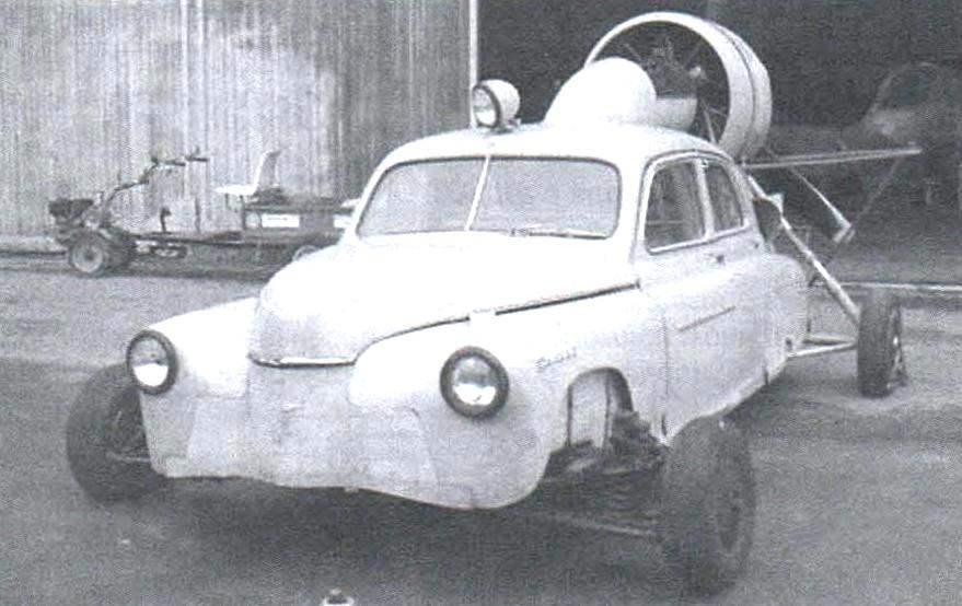 Аэросани «Север-2» - экспонат Музея Военно-воздушных сил в Монино (на фото аэросани укомплектованы перекатным колёсным шасси)