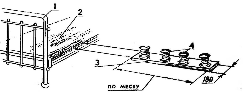 Рис. 1. Модернизация панцирной кровати
