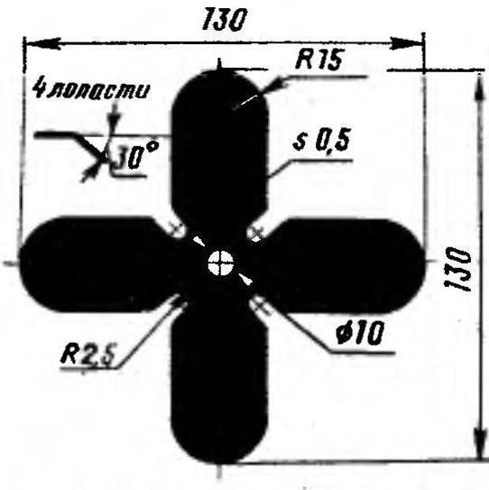 Изготовление крыльчатки вентилятора