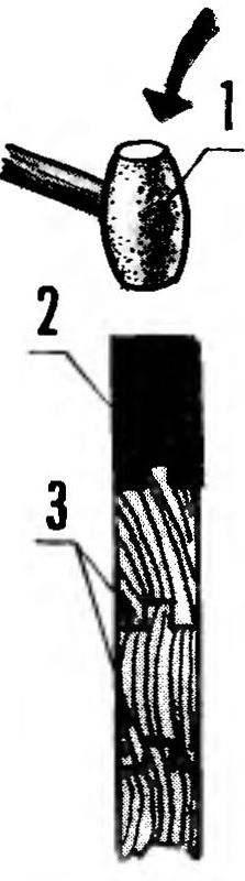 Рис.6. Сплачивание стеновой панели